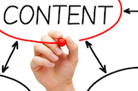 website content creation